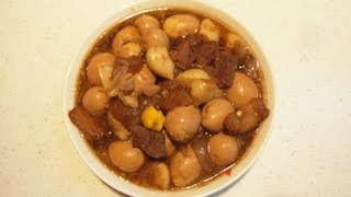 Ю.Корея 61 Закуска из перепелиных яиц (메추리알 장조림)