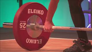 Boys 56kg Group A - 2018 European U15 Weightlifting Championships