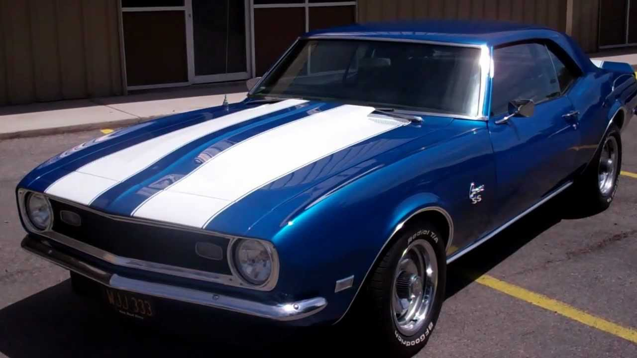 1968 chevy camaro for sale at hot rod city las vegas youtube. Black Bedroom Furniture Sets. Home Design Ideas