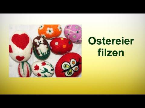 Ostereier filzen/RuthvonG