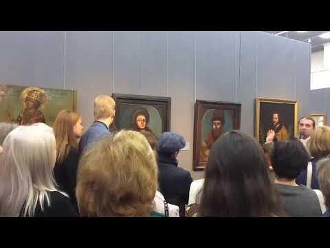 Выставка «Сокровища музеев России» в ВОХМ им. И.Н. Крамского