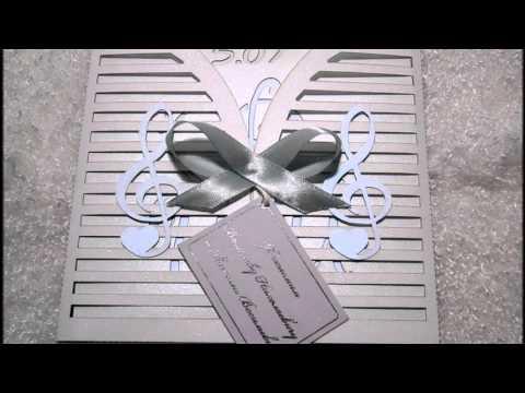 Музыкальные откытки ручной работы на заказ с Днем рождения, свадьбой, юбилеем