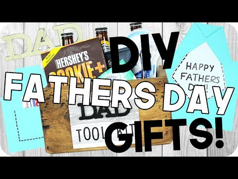 DIY Fathers Day Gifts! Cheap & Easy!