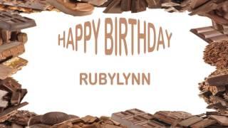 RubyLynn   Birthday Postcards & Postales