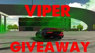 Doge Viper Giveaway (Tuned) | Car Parking Multiplayer
