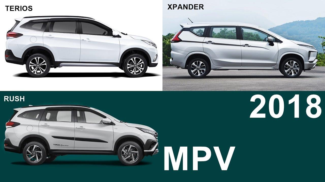 grand new avanza vs mitsubishi xpander 2018 putih daihatsu terios toyota rush