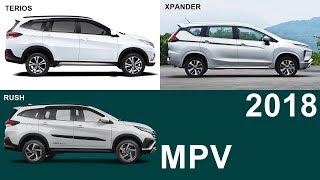 2018 Daihatsu TERIOS Vs 2018 Toyota RUSH Vs 2018 Mitsubishi XPANDER