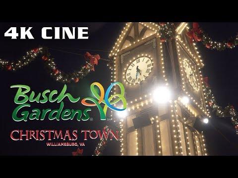 Cinematic Christmas Town - Busch Gardens Williamsburg December 2018