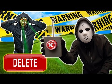 GAME MASTER BREAKS INTO QUADRANT SAFE HOUSE TO DELETE YOUTUBE CHANNEL WITH MIND CONTROL SPY DEVICE