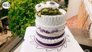 chocolate cake decorating bettercreme vanilla (483) Làm Bánh Kem Đơn Giản (483)