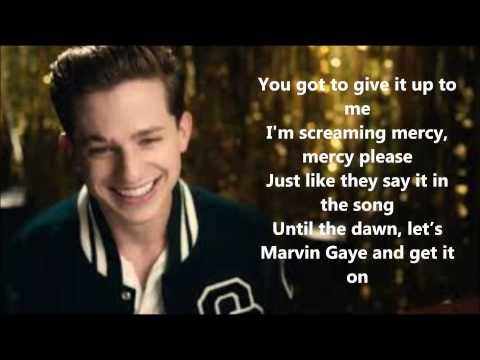 "Charlie Puth ""Marvin Gaye"" Ft.Meghan Trainor Lyrics"