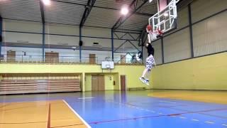 My first dunk.