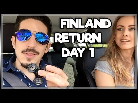 IM BACK IN FINLAND SUMMER STYLE! | FINLAND VLOG DAY 1