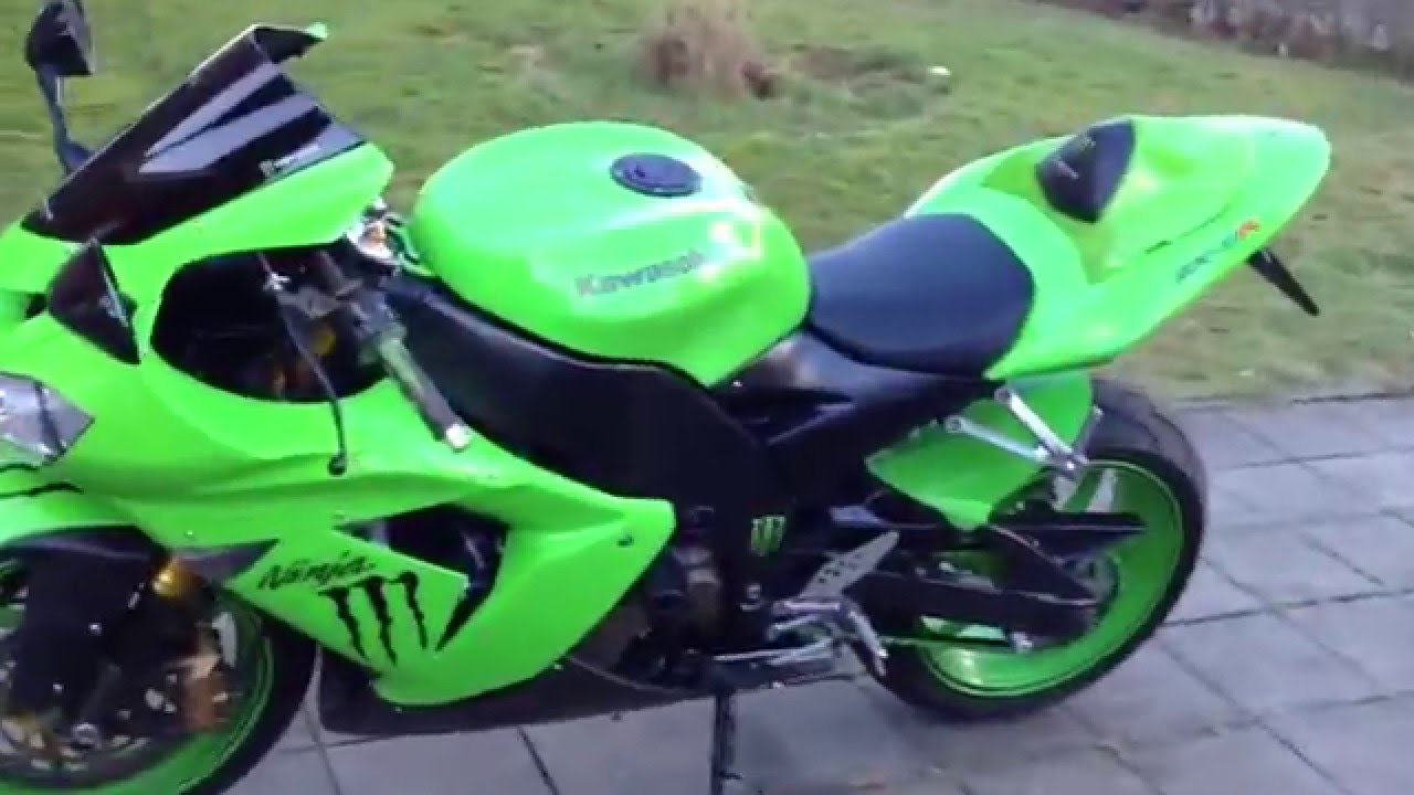 Kawasaki Ninja ZX-10R 2005 sound with leovince carbon ... | 1280 x 720 jpeg 101kB