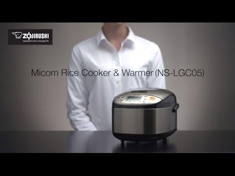 Zojirushi Micom Rice Cooker & Warmer NS-LGC05