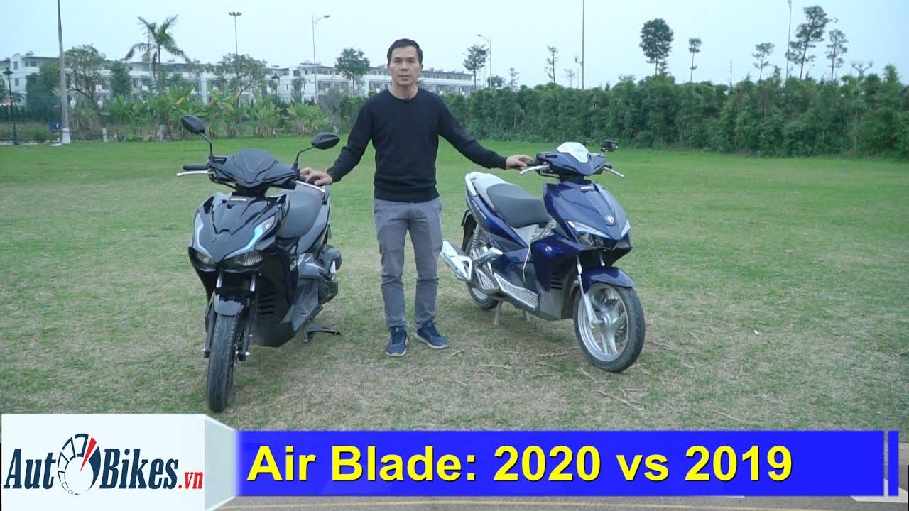 So sánh Honda Air Blade 2020 với Air Blade 2019: Ngon nhưng đắt hơn