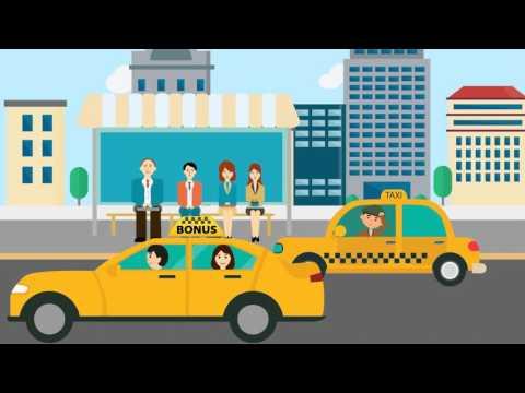 Работа в такси БОНУС