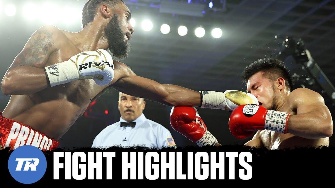 Albert Bell hurts hand, still gives Bernaldez that work | FULL FIGHT HIGHLIGHTS