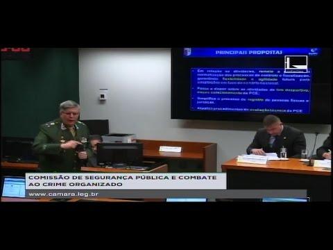 Discussão do novo R-105 de Fiscalização de Produtos Controlados do Exército