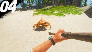 ATTACKED BY A GIANT CRAB! | Stranded Deep #4