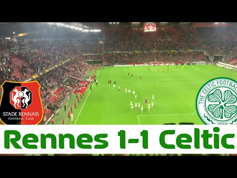 Rennes 1-1 Celtic VLOG | Road to Rennes