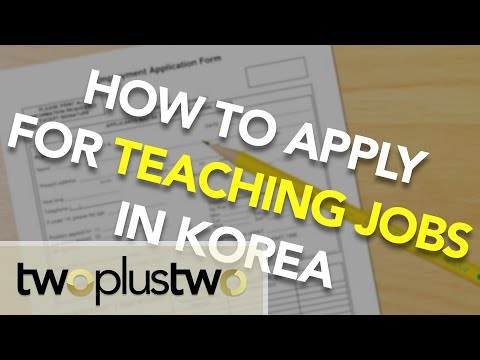 EPIK & Hagwon Applications - Teach in KOREA