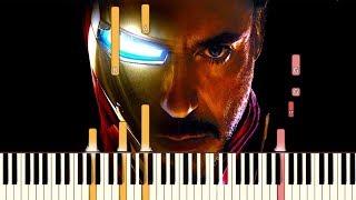 Gambar cover Avengers: Endgame - The Real Hero | Piano Tutorial (Synthesia)