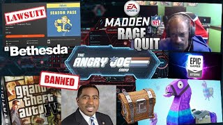 AJS News- Snoop Dogg Rage Quits, Bethesda Sued over Fallout 4, Violent Video Games Ban, Epic Lawsuit