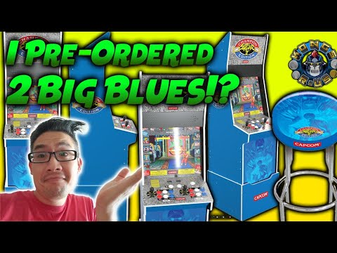 I Bought 2 Arcade1Up Big Blue Machines! Was it a Mistake? (Street Fighter 2) from Kongs-R-Us