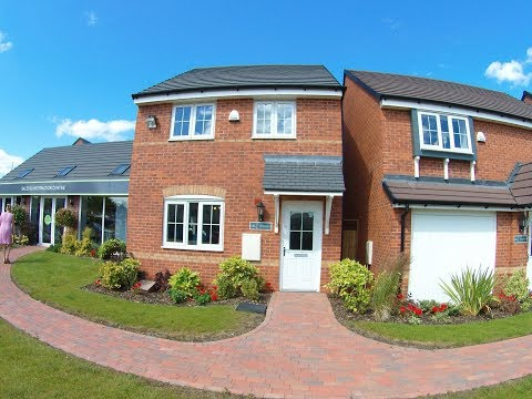 Barratt Homes  - The Finchley @ The Limes, Cannock, Staffordshire by Showhomesonline