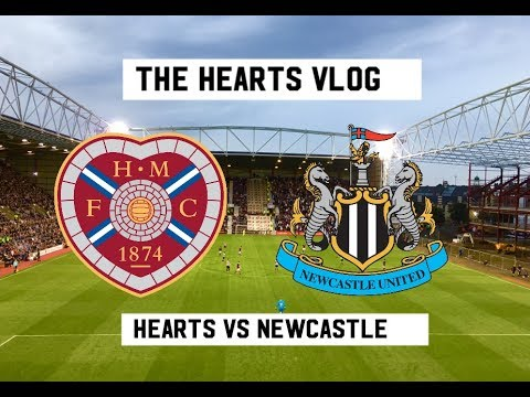 THE GEORDIE BOYS ARE IN TOWN!!! | Hearts VS Newcastle United | The Hearts Vlog Season 3 Episode 4