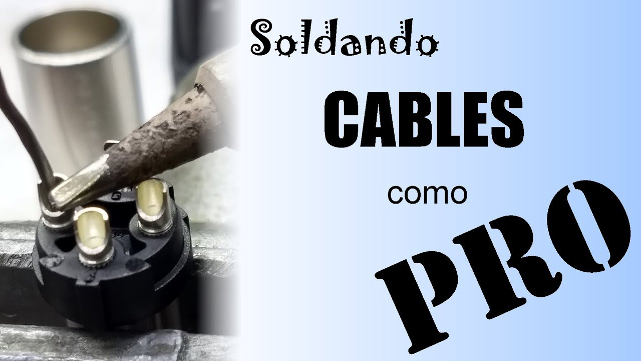 Cómo Soldar Cables de Audio
