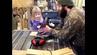 Storage Box / Chest With Dividers Built With A ''little Assistant''. Math You See Part 1