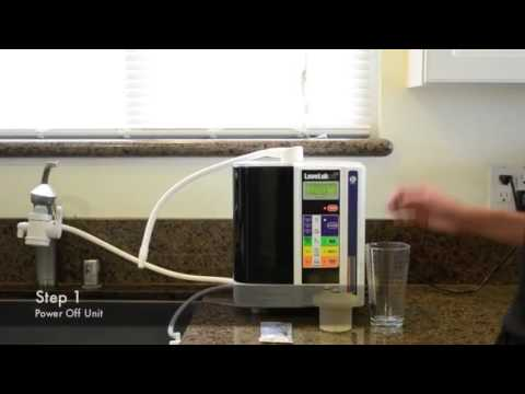 How to clean your kangen water machine SD501