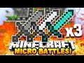"Minecraft MICRO BATTLES ""TRIPLE LAVA KILL!"" #36 with PrestonPlayz"
