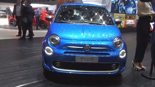 Fiat 500S TwinAir 0.9 Turbo 105hp (2017) Exterior and Interior Video
