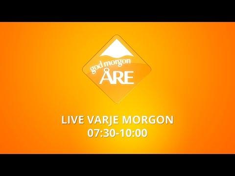 Godmorgon Åre - Live 8:e Januari 2017