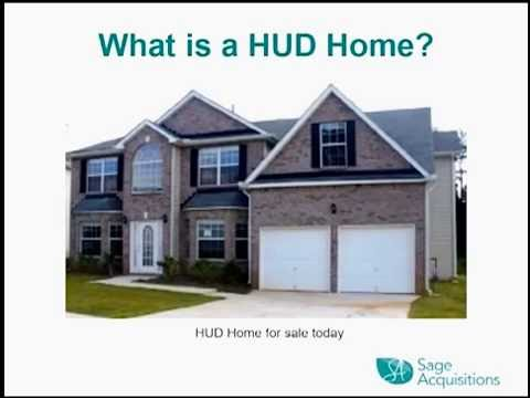 Realtor Training How to sell Sage HUD Homes presentation by Richard Stewart