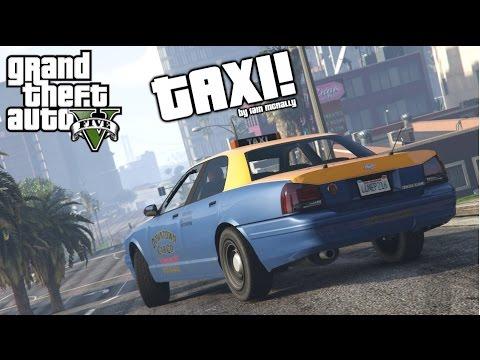 GTA V- TAXI! (Rockstar Editor)