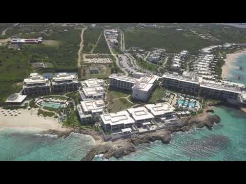 Expensive property flyover ,fourseasons hotel /resort ANGUILLA
