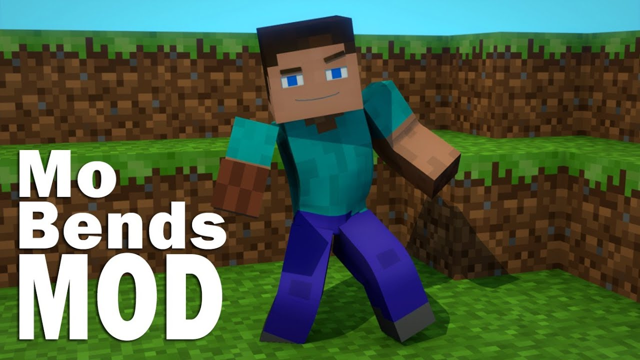 Mo' bends mod for minecraft 1. 7. 10, 1. 7. 2 and 1. 6. 4.