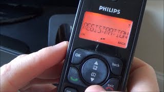 How to Register (Pair) a DECT Landline Phone.