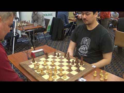 Siemer Tambet - GM Alexandr Fier, Grunfeld defense, Blitz chess