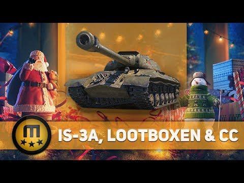Stellungnahme: IS-3A, Lootboxen und Community Contributor