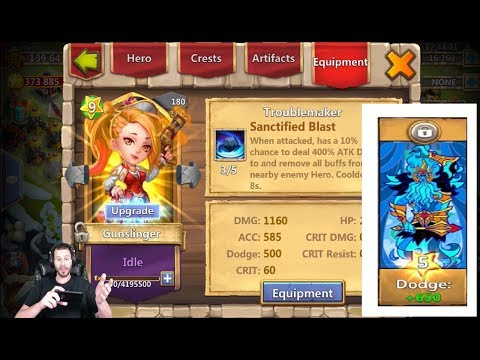 JT's Free 2 Play Spend Gems & Win GunSlinger Needs Traits Castle Clash