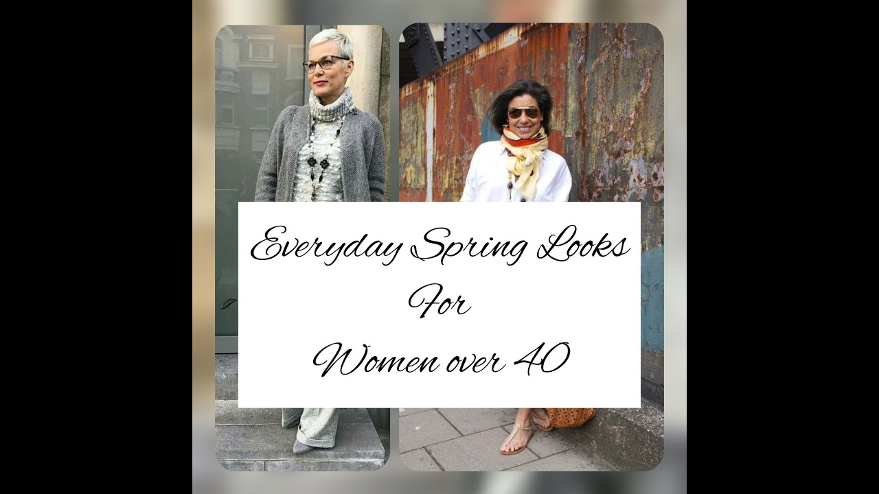 The Chic and Stylish Everyday Spring Looks Ideas for Women Over 40.
