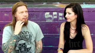 HardRockChick interviews Amon Amarth drummer Fredrik Andersson