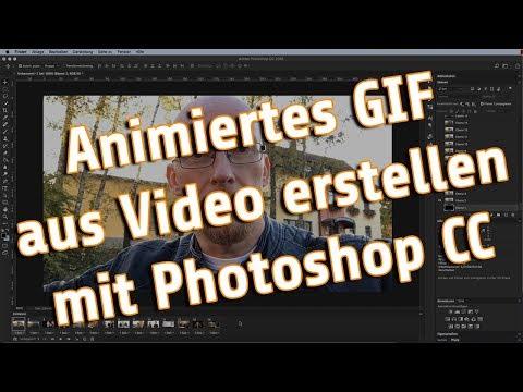 Animiertes GIF aus Video erstellen mit Adobe Photoshop CC