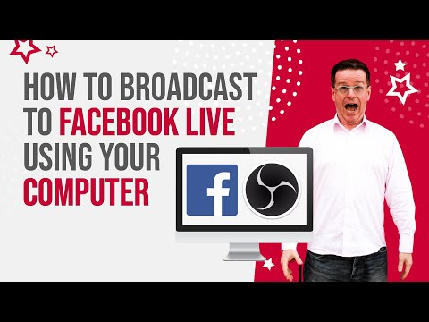 How to Broadcast to Facebook Live using your Computer