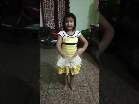 Action song poem competition topper in class 1 Akshita Singh, KV,Sambalpur
